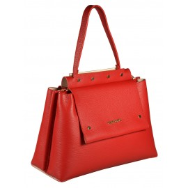 Gironacci сумка 1183 кожа красный/виола