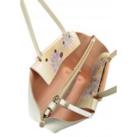 Gironacci сумка 1181 кожа беж/чиприя МАРГАРИТА