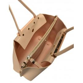 Gironacci сумка 1181 кожа нюд/чиприя
