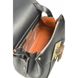 Gironacci сумка 1190 кожа черный/койо