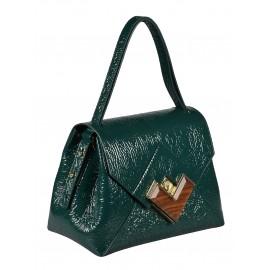 Gironacci сумка 1190 наплак зеленый/зеленый