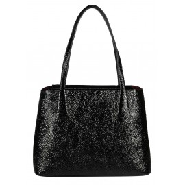 Gironacci сумка 1290 наплак черный/бордо