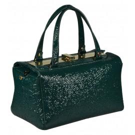 Gironacci сумка 1391 наплак зеленый/виола