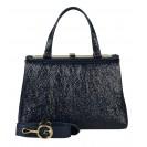 Gironacci сумка 1392 наплак синий/виола