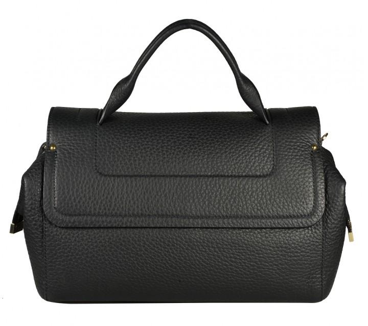 Gironacci сумка 1591 кожа черный/черный