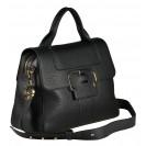 Gironacci сумка 1592 кожа черный/черный