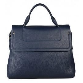 Gironacci сумка 1592 кожа синий/синий