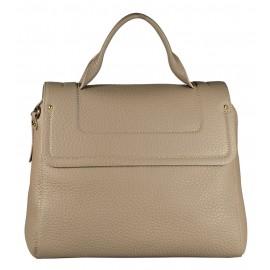 Gironacci сумка 1592 кожа таупе/таупе