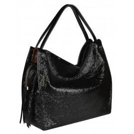 Gironacci сумка 1681 наплак черный/маттоне