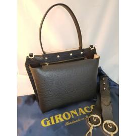 Gironacci сумка 1182 кожа черный/койо