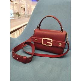 Gironacci сумка 2242 кожа вино/бордовый