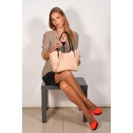 Gironacci сумка 521 кожа белый/турчезе