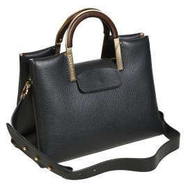 Gironacci сумка 2211 кожа черный/черный