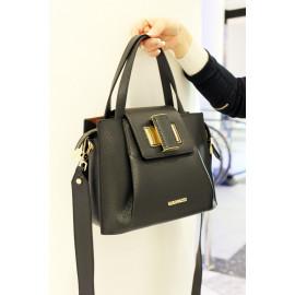Gironacci сумка 2340 кожа черный/калф койо