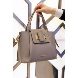 Gironacci сумка 2340 кожа фумо/калф койо