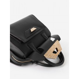 Gironacci сумка 2120 кожа черный/койо