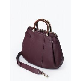Gironacci сумка 2141 кожа бордо/бордо