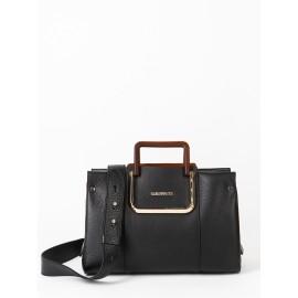 Gironacci сумка 2221 кожа черный/койо