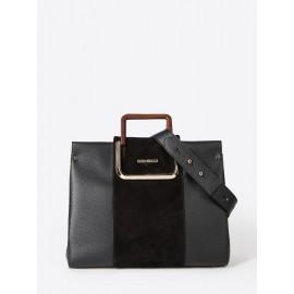 Gironacci сумка 2222 кожа черный/койо