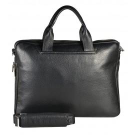 Giudi UOMO портфель м5374 кожа черный