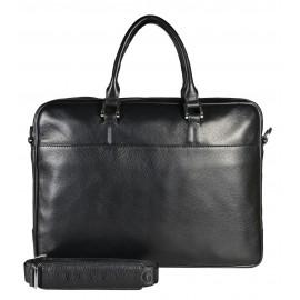 Giudi UOMO портфель м5448 кожа черный