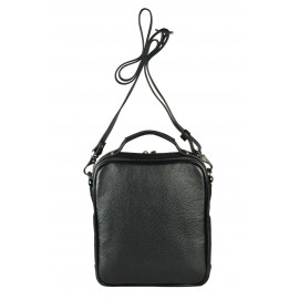 Giudi UOMO сумка м10328 кожа черный
