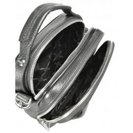 Giudi UOMO сумка м10313 кожа черный