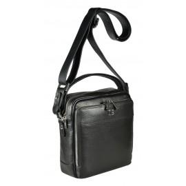 Giudi UOMO сумка м5652 кожа черный