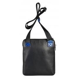 Giudi UOMO сумка м10691 кожа черный/черный
