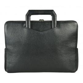 Giudi UOMO сумка м5753 кожа черный