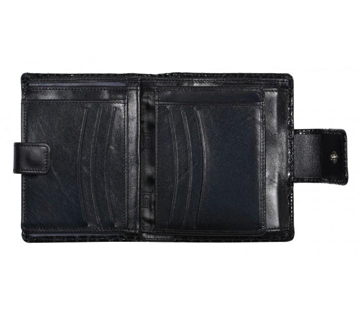 Giudi кошелек п6525/MUL-03 кожа питон черный