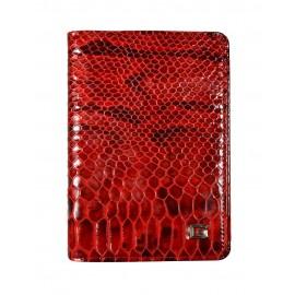Giudi обложка п6764 MUL-05 кожа питон красный