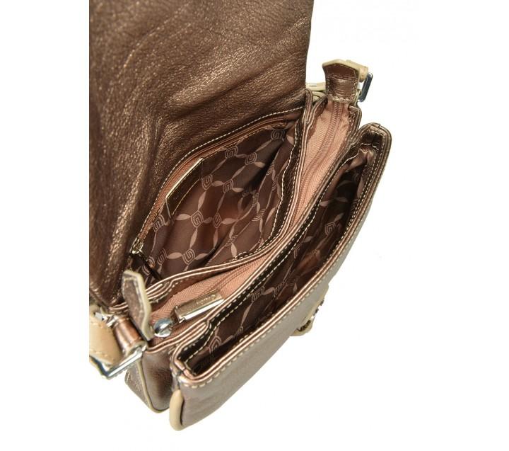 Giudi сумка 10087/CIN/AE-AS кожа чинзано бронза
