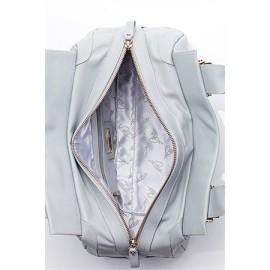 Lara сумка 9146 кожа перла серый