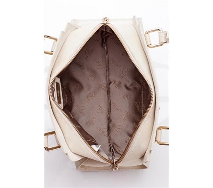 Lara сумка 9448 кожа кроко песок