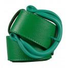 Marina C. ремень р1769-40 гомма зеленый