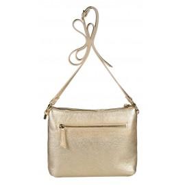 Marina C. сумка 3937/063 кожа металлик платина