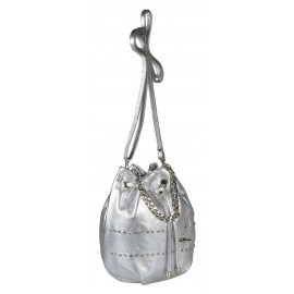 Marina C. сумка 4128/0760 кожа серебро/никель