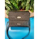 Marina C. сумка 4330 кожа наплак черный/никель