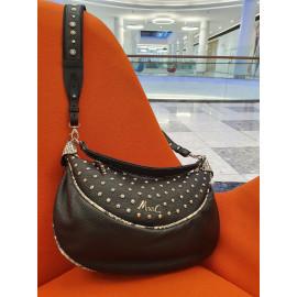 Marina C. сумка 5246/001 кожа черный