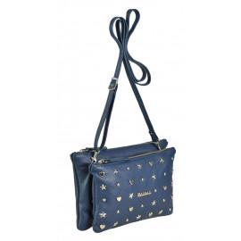 Marina C. сумка 2885 кожа синий