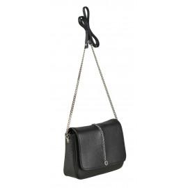 Marina C. сумка 4598 кожа черный стразы
