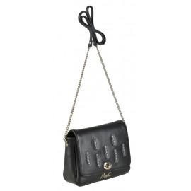 Marina C. сумка 5064 кожа черный стразы