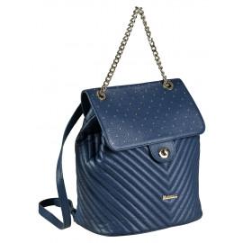 Marina C. рюкзак 3975 кожа синий