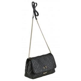 Marina C. сумка 4132 кожа черный вышивка
