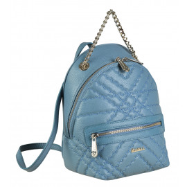 Marina C. рюкзак 4546 кожа голубой