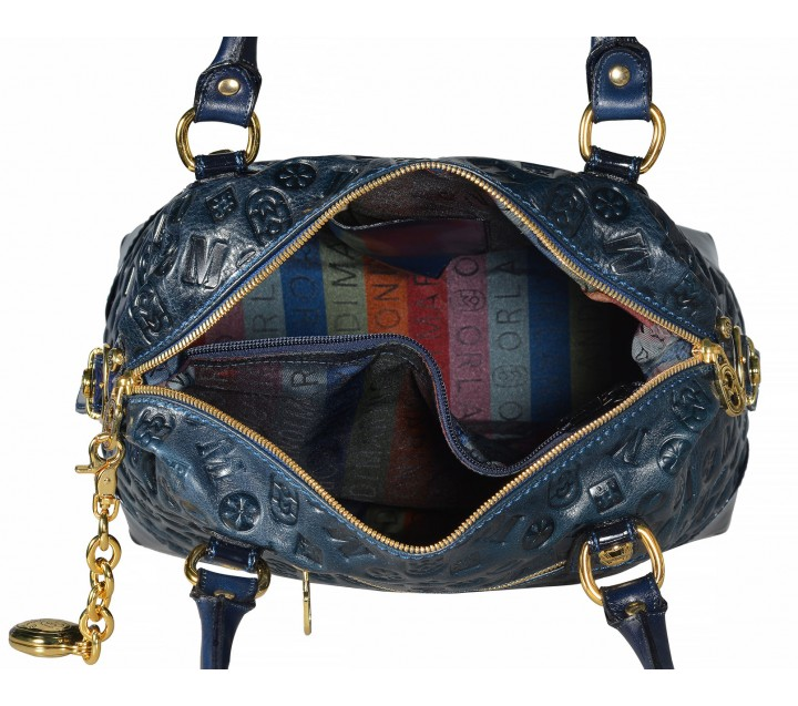 Marino Orlandi сумка 4206 ромбик черный/мульти ПРОДАНО !
