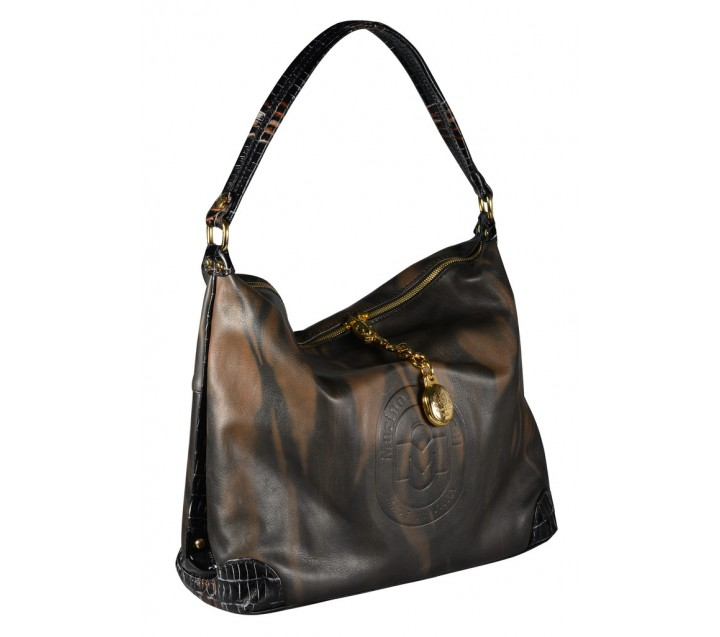 Marino Orlandi сумка 4289 кожа деграде коричневая