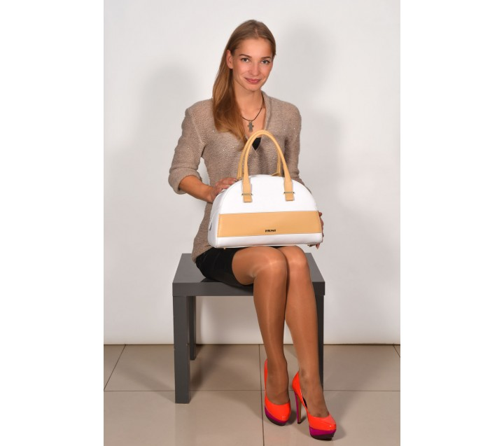 CMP сумка 1441 калф мираж белый/натур