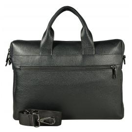 Ripani мужская сумка м9643IP кожа черный
